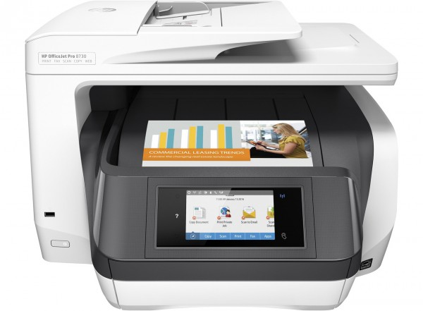 HP OfficeJet Pro 8730 All-in-One Printer-Copy