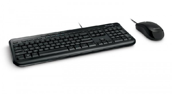 Keyboard & Mouse Microsoft Wired Desktop 600 for Business (DE) (3J2-00013)